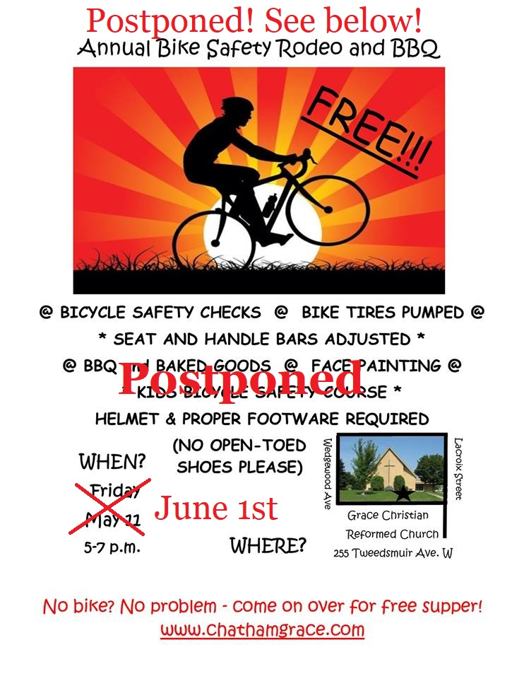 Bike Rodeo Announcement
